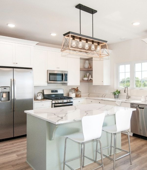 Kitchen designed by Kane Home Cabinetry